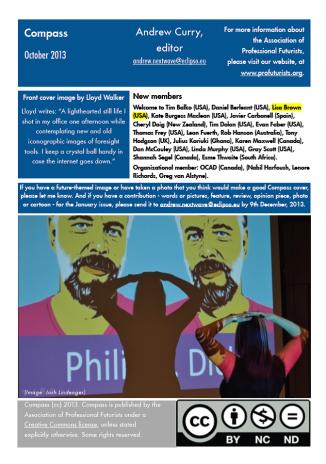 Association of Professional Futurist Publication: Compass