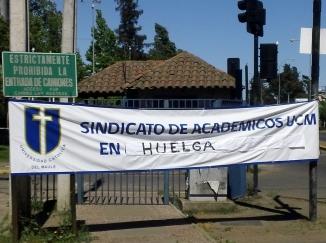 Nuestro profesorado universidad están en huelga (On Strike!)