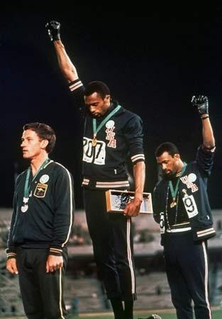 Tommy Smith 1968_Olympics