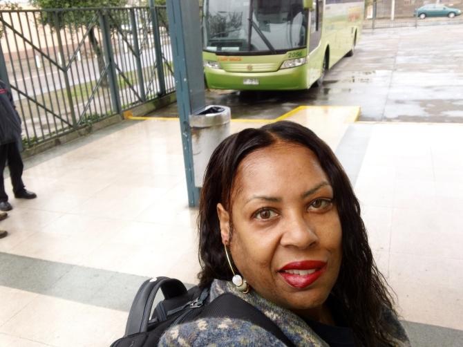 Viage a Santiago en un día de lluvia  (Trip to Santiago on a rainy day)