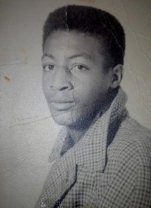 One of the few pictures of our Daddy as a teenager.