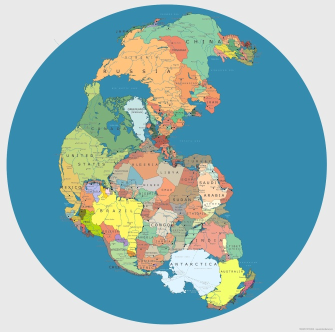 Pangaea: When we where ideally one people.