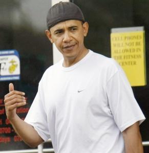 President no smile