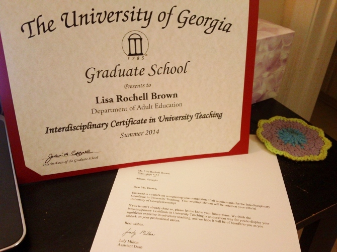 University Teaching Certificate - Copy