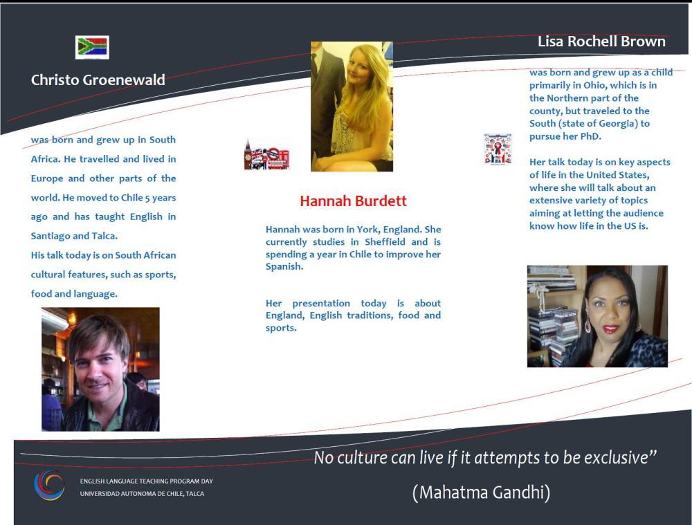 My North American Life (Intercultural Exchange Presentation at Universidad Autónoma de Chile) (2/6)