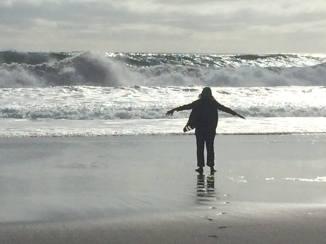 El Mar (the beaches in Pelluhue y Curanipe, Chile)  South Pacific Ocean